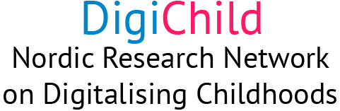 Nordic Research Network on Digitalising Childhoods Logo